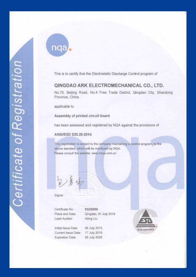 ARK certification
