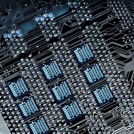 circuit-board, computer part
