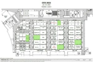 CES meeting room map